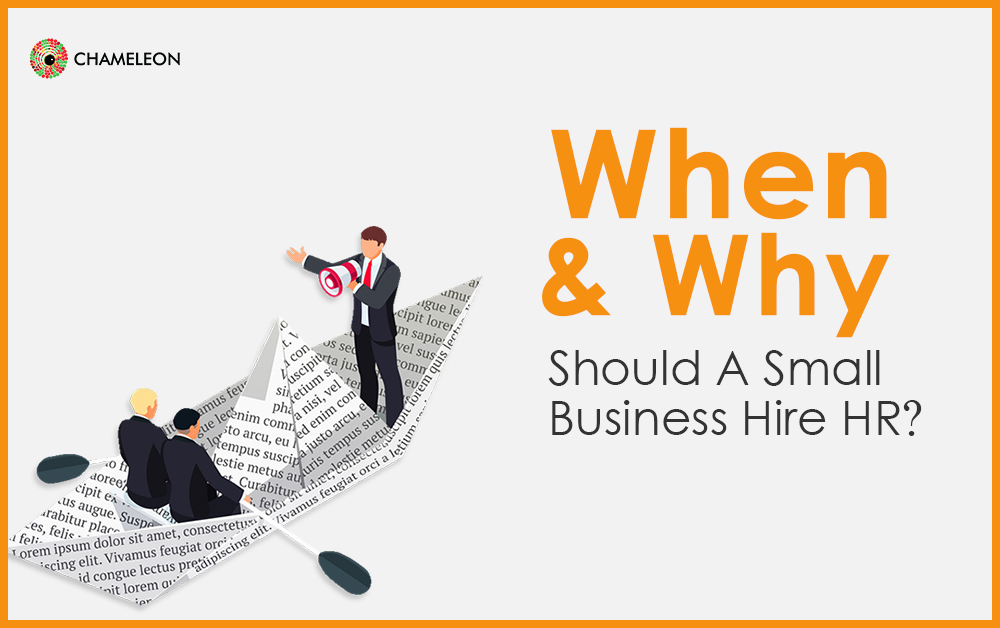 When and why should a Small Business hire HR?
